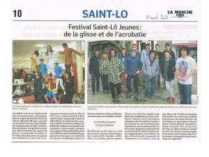 article st lo jeunes manche libre avril 2013