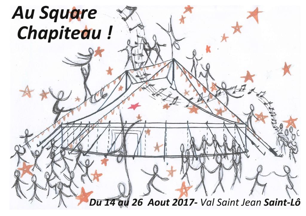 Affiche Au square Chapiteau