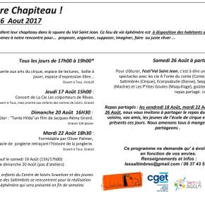 Programme Au square chapiteau