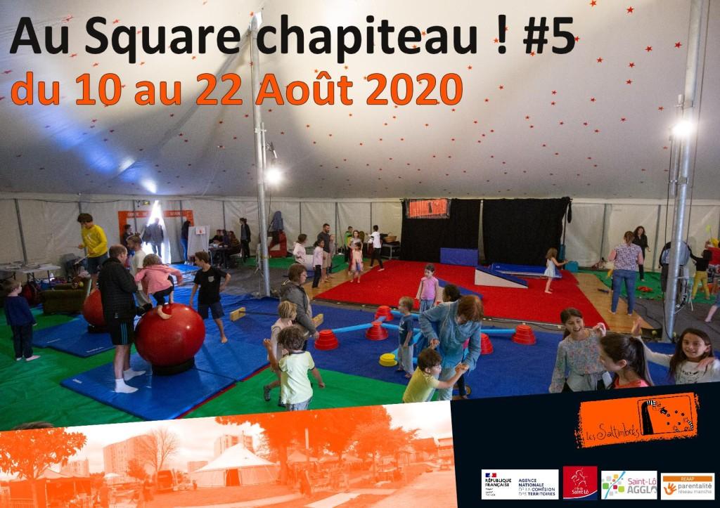 affiche Au Square Chapiteau 2020